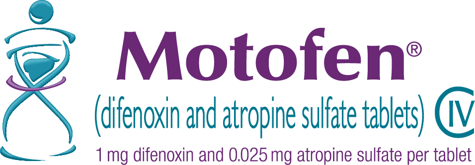 Motofen (difenoxin and atropine sulfate tablets) home page. 1 milligram difenoxin and 0.025 milligrams atropine sulfate per tablet. Schedule 4.